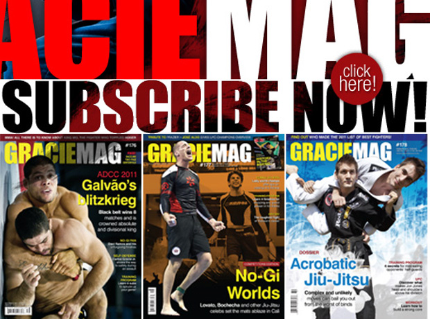 Subscribe to GRACIEMAG