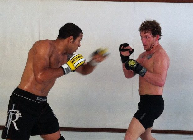 José Aldo and Gray Maynard's takedown and Jiu-Jitsu training for UFC 142