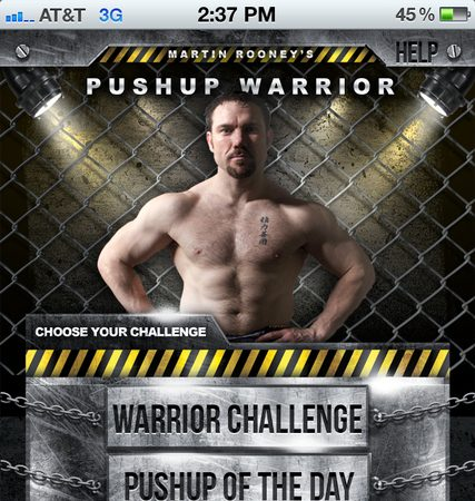 120 different ways of pushing up, by Martin Rooney