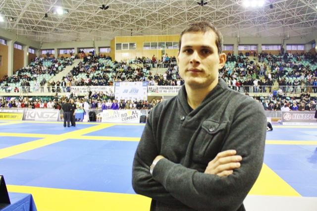 Roger Gracie acompanha o Europeu de Jiu-Jitsu 2012