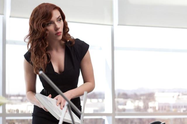 Scarlett Johansson's got a knack for Jiu-Jitsu