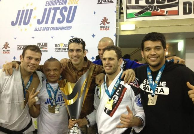 Euros gold medalist Estima serves recipe for being winning Jiu-Jitsu school director
