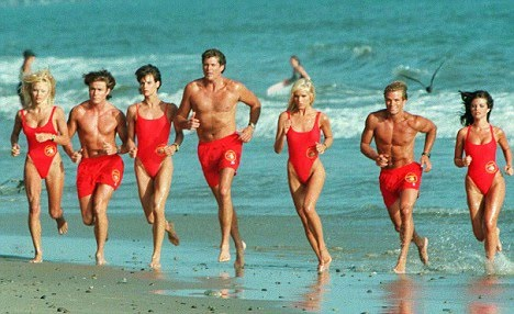 Pamela Anderson's castmate Jeremy Jackson will be diving into gentle art competition head first. Publicity photo.