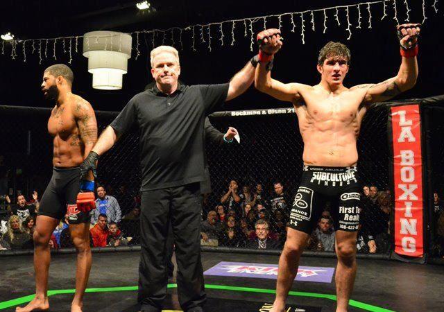 Uflacker celebrates MMA win with GMA membership