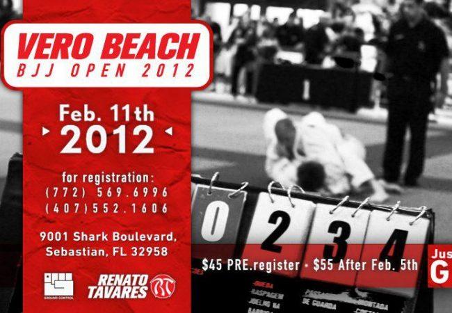 Vero Beach BJJ Open this weekend