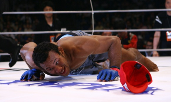 Astro do Jiu Jitsu Jacare comemora vitoria no Dream no Japao
