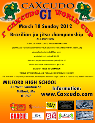 Caxcudo World Cup next March 18th