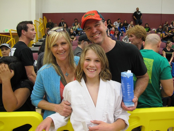 Branson Graf and his family embracing the unknown