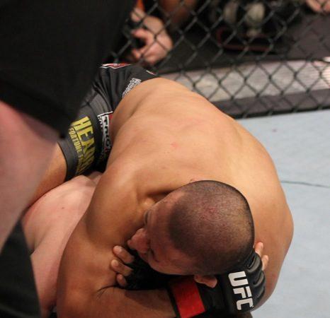 UFC: finalização da noite inspirada em Sakuraba