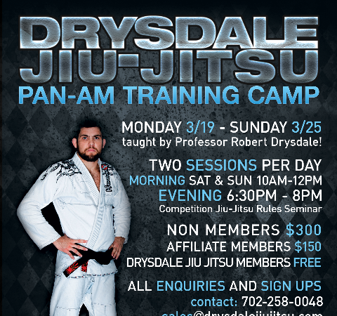Drysdale wants to train for the Pan with you