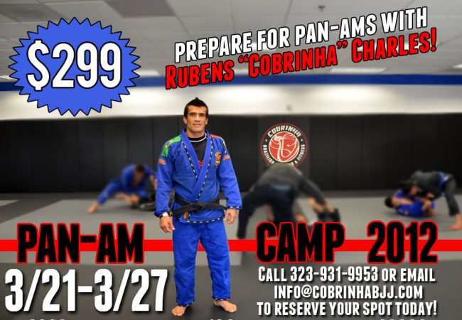 Train for the 2012 Pan with Cobrinha