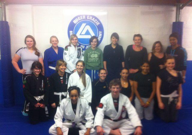 Ladies self defense class at RG Buckinghamshire