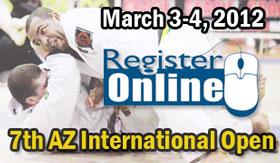 Arizona Open 2012: pre-registration ends today