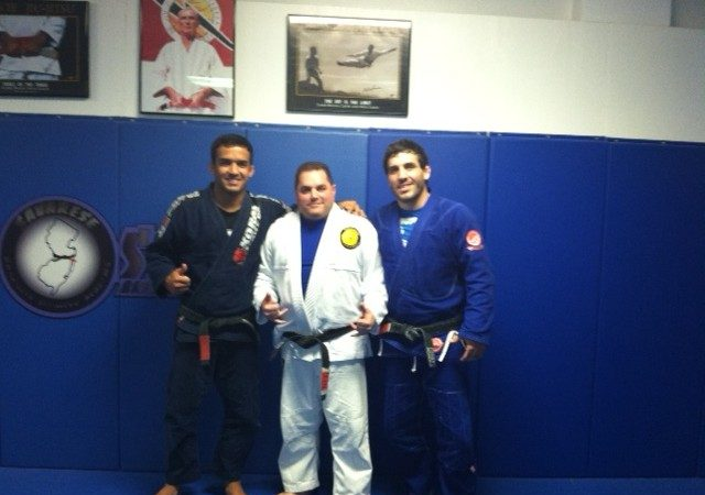 Pellegrino, Chaves stop by Savarese BJJ
