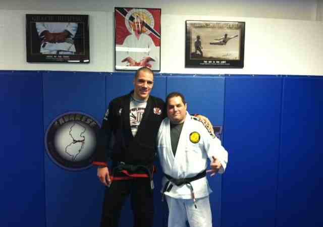 Lovato awards first degree to Savarese's black belt