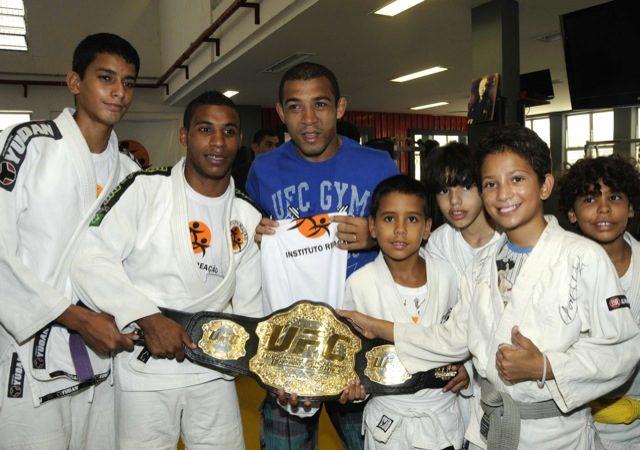 Em parceria com Reação, UFC investe no judô e no Jiu-Jitsu de nossas crianças