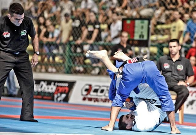 Frazatto na semifinal de Jiu-Jitsu com Marcelo Silva em Gramado por Ivan Trindade