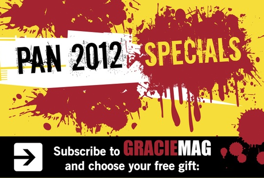 Pan 2012 Specials: Subscribe to GRACIEMAG and choose your free gift