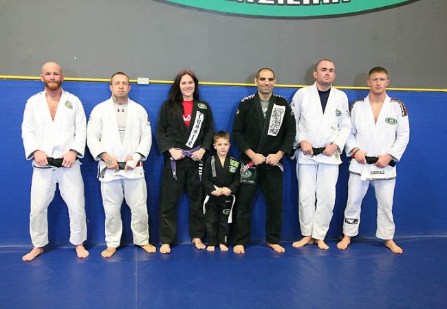 Zingano and his new black belts