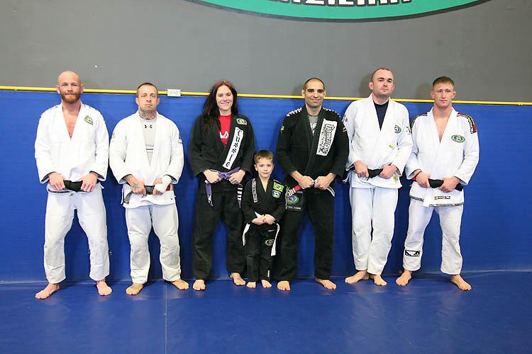 Zingano and his new black belts