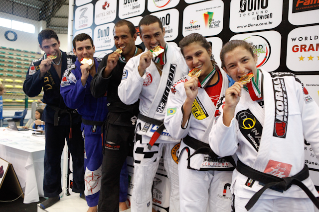 The pictures of day 2 of WPJJ Trials Gramado