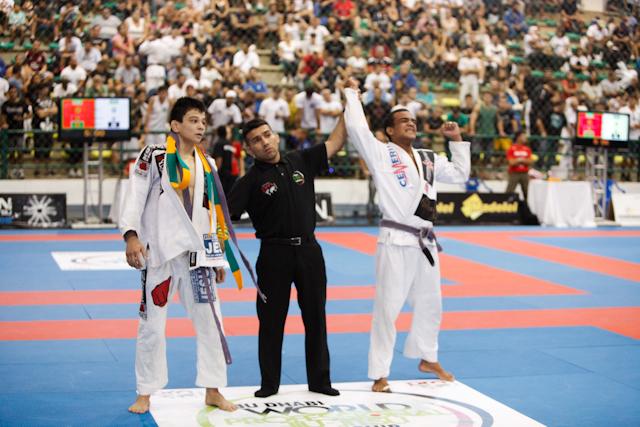 Paulo Miyao loses at under 64kg
