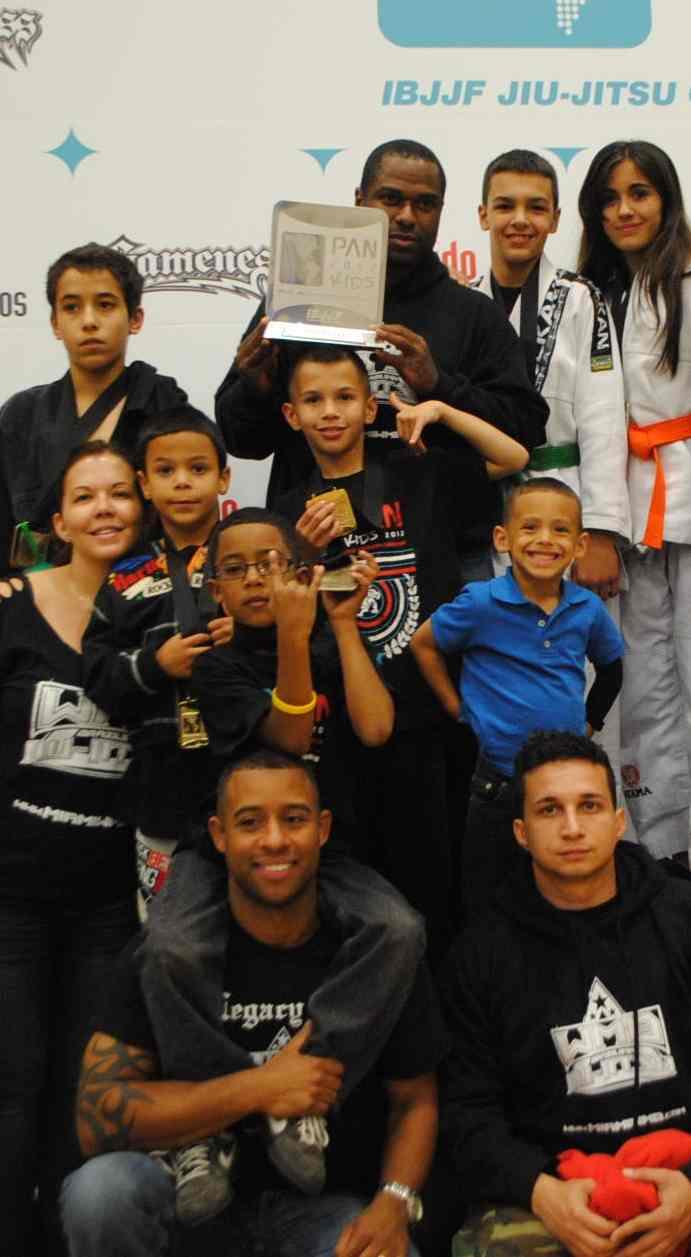 Alliance Miami Team at Pan Kids