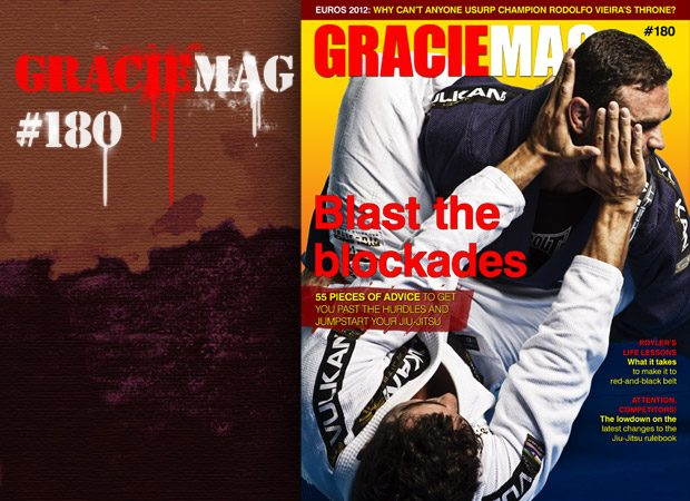 GRACIEMAG 180, persistence and inspiration
