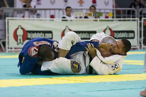 Saulo Ribeiro foi o ás dos campeonatos de Jiu-Jitsu escolhido por Chael Sonnen. Foto: Gustavo Aragão.