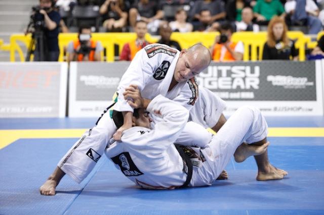 Xande Ribeiro em acao no Jiu Jitsu Foto Ivan Trindade