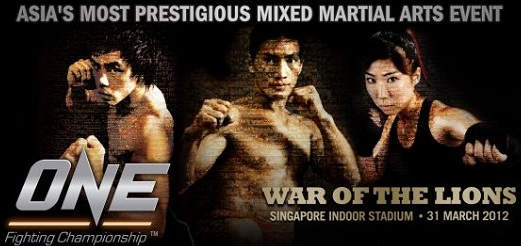 One FC streamed live for free tomorrow