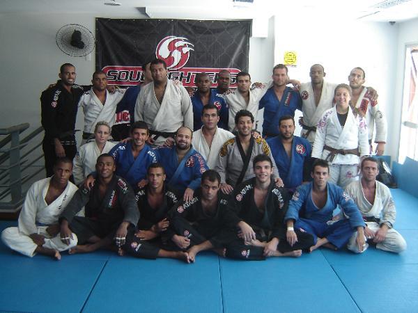 equipe Soul Fighter Academia Delfim Tijuca Rio de Janeiro