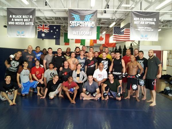 TUF 15: Irvin and Drysdale join forces for UFC champ Cruz's Jiu-Jitsu