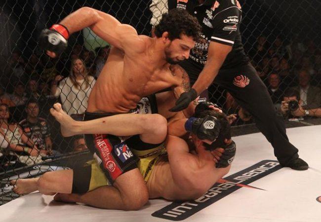 Após finalização da noite, faixa-preta de Jiu-Jitsu Adriano Martins encara Cerrone no UFC