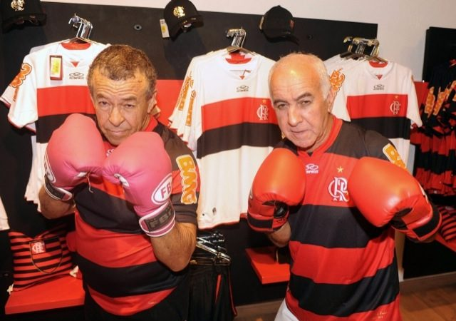 Flamengo boxers-turned cab drivers celebrated 50 years on