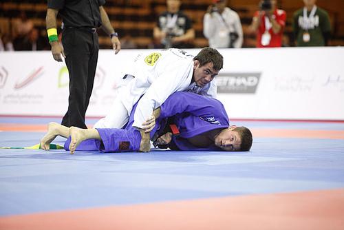 "Joyful Pan and Abu Dhabi champ Calasans defends ""bilateral"" Jiu-Jitsu"