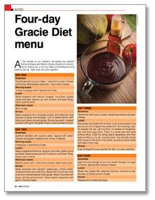 Jiu-Jitsu Diet GRACIEMAG 181