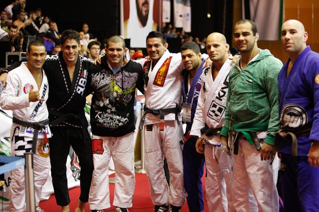 Rodolfo e Galvão (no centro) decidem o absoluto do WPJJC 2012