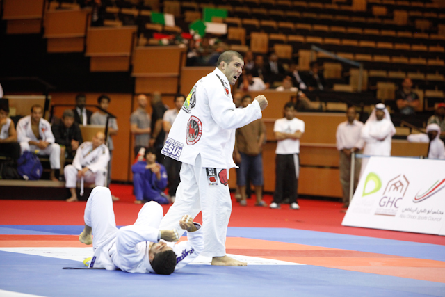 Rodolfo é bicampeão mundial profissional de Jiu-Jitsu