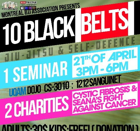 Black belts in Montreal hold one-of-a-kind charity seminar this weekend