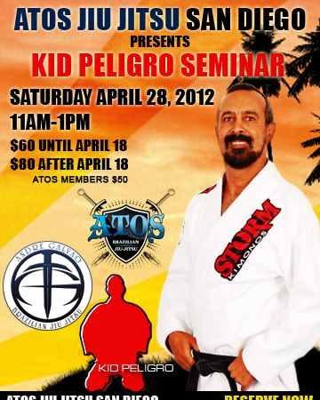 Galvão hosts Kid Peligro seminar