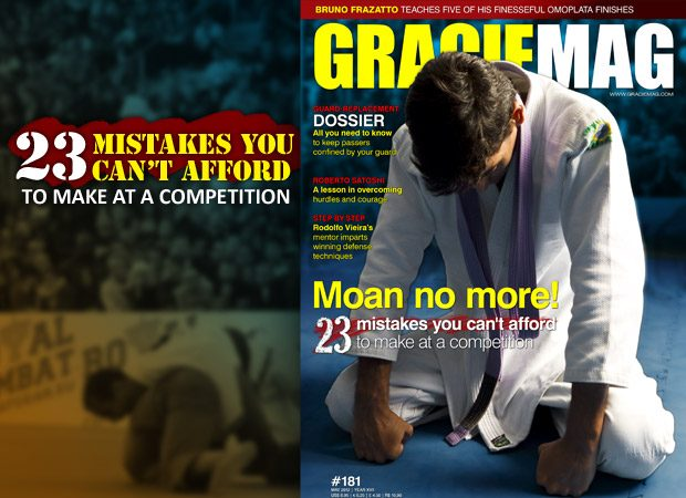 Issue #181: avoid mistakes and better your Jiu-Jitsu guard