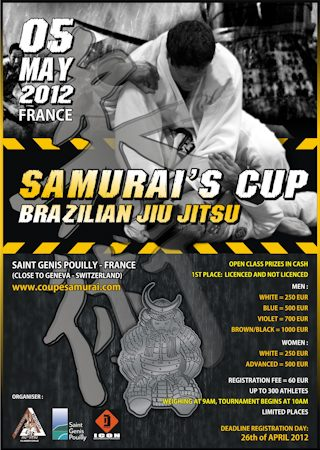 Go Compete at Samurai's Cup
