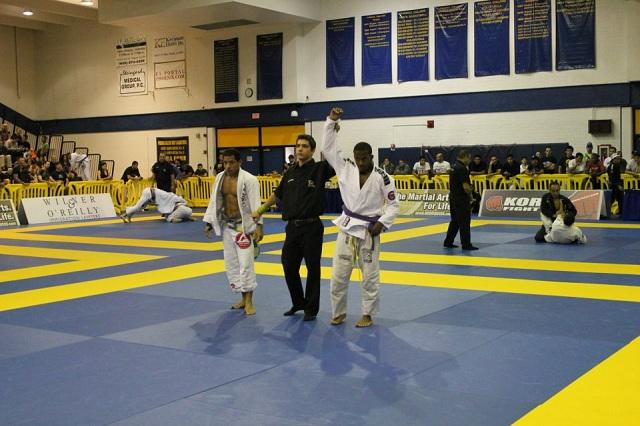 Featherweight purple belt winner Christian Broadnax / Publicity photo