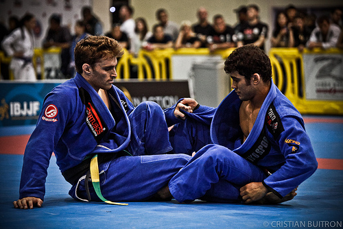Clark Gracie shows you a way to recover guard and sweep