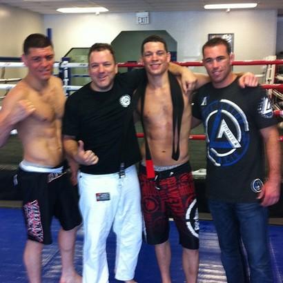 Nate Diaz promoted to Jiu-Jitsu black belt