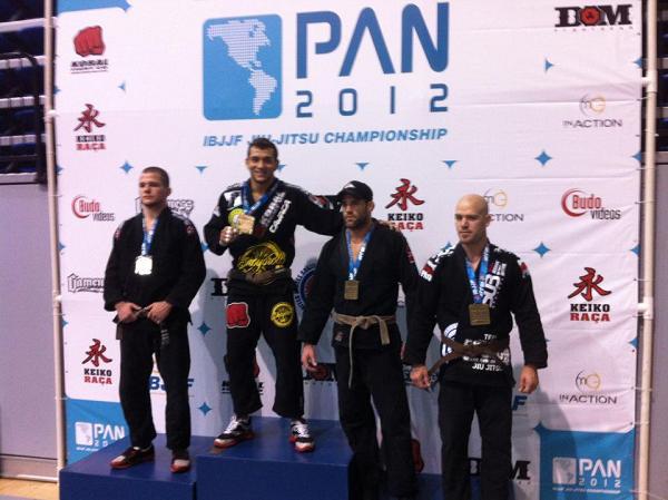 Pan 2012 revelation Renato Cardoso, efficient brown belt absolute champion