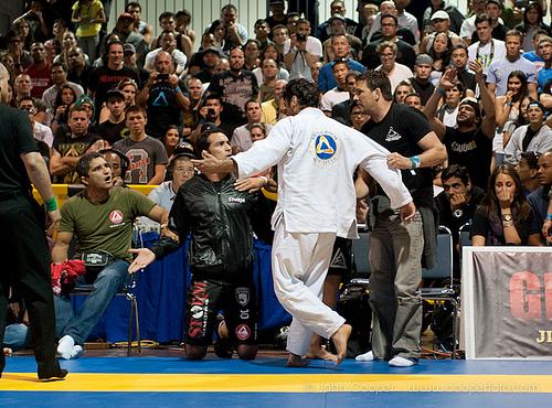Muita técnica e clima quente na Jiu-Jitsu Expo. Foto: John Cooper/GRACIEMAG.
