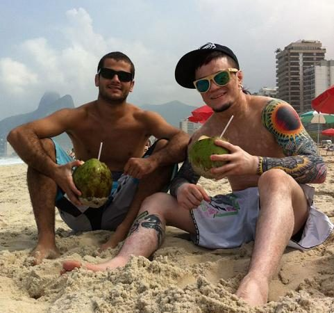 O caso de amor de uma fera do UFC com o Rio de Janeiro e o Jiu-Jitsu