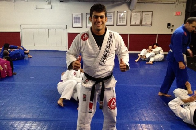 Black belt Otavio Sousa